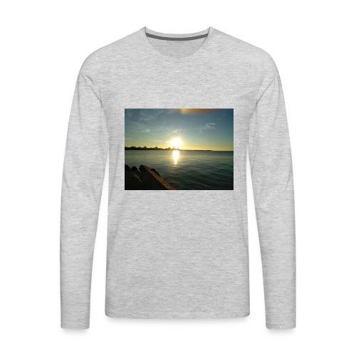 Sunset merch - Men's Premium Long Sleeve T-Shirt