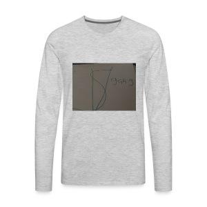 Sv gang kids hoodie - Men's Premium Long Sleeve T-Shirt