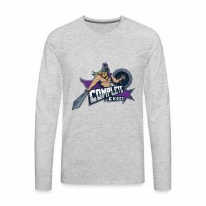 Complete Chaos - Purple - Men's Premium Long Sleeve T-Shirt