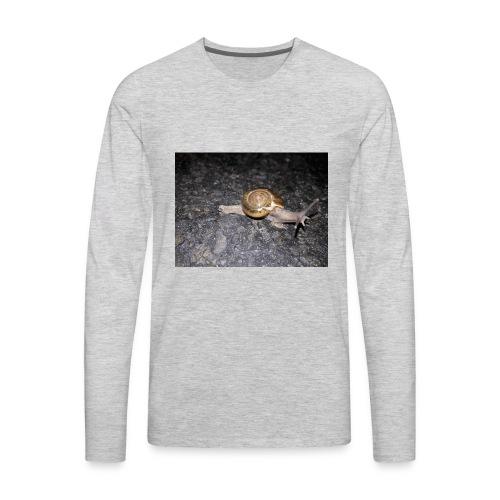 শামুক - Men's Premium Long Sleeve T-Shirt
