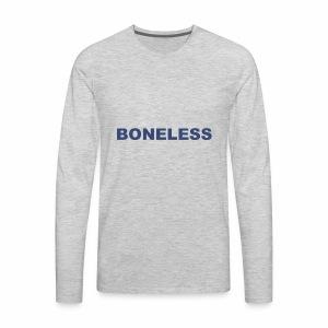 Boneless Tee - Men's Premium Long Sleeve T-Shirt
