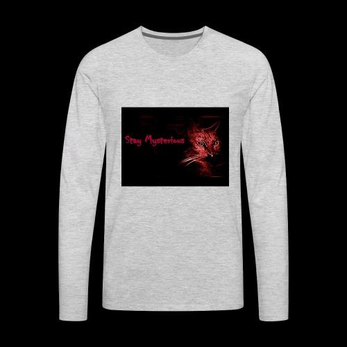 Stay Mysterious - Men's Premium Long Sleeve T-Shirt