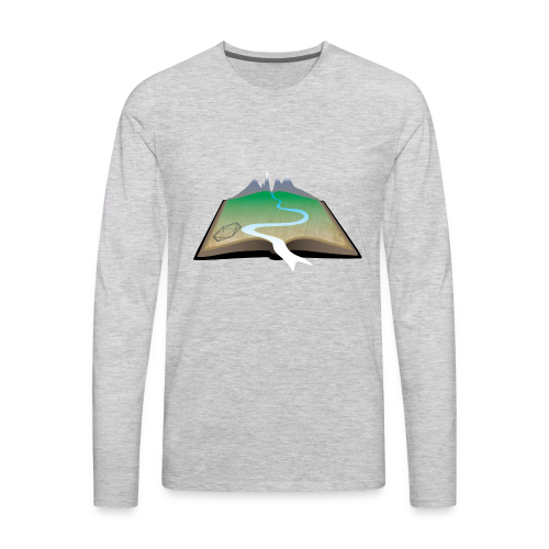 ANU Roleplaying Society Logo T-Shirt - Men's Premium Long Sleeve T-Shirt