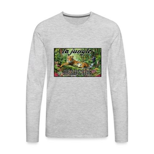lajunglehardcore - T-shirt Premium à manches longues pour hommes