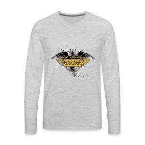 Old School Garage 002 - Men's Premium Long Sleeve T-Shirt