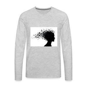 music through my head - Men's Premium Long Sleeve T-Shirt