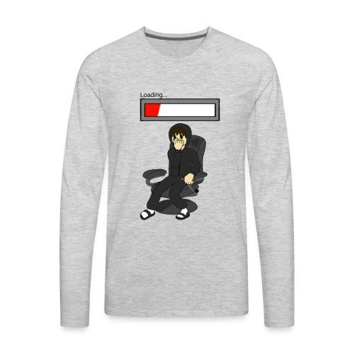 Lazy Boy Loading - Men's Premium Long Sleeve T-Shirt