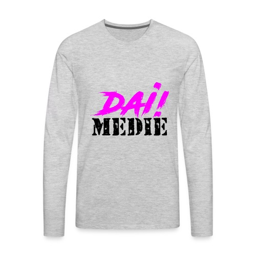 dia medie - Men's Premium Long Sleeve T-Shirt