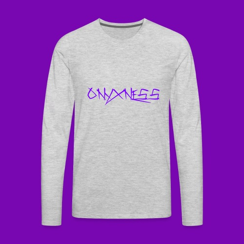 OnyxNess (Purple) - Men's Premium Long Sleeve T-Shirt