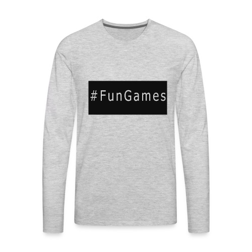 -FunGames - Men's Premium Long Sleeve T-Shirt