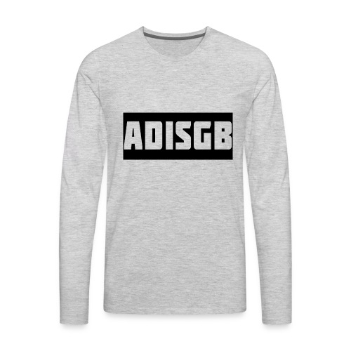AdiSGB Official Tshirt - Men's Premium Long Sleeve T-Shirt