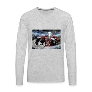 Castlevania:Symphony Of The Night - Men's Premium Long Sleeve T-Shirt