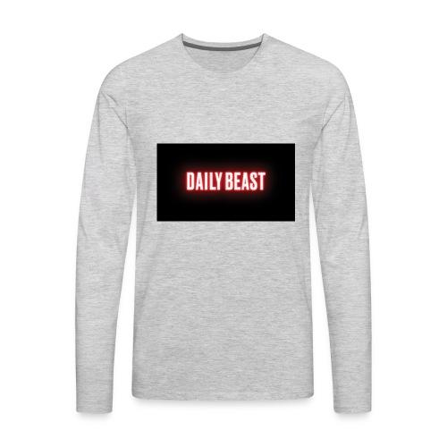 daily beast - Men's Premium Long Sleeve T-Shirt