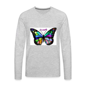 Happy Butterfly - Men's Premium Long Sleeve T-Shirt