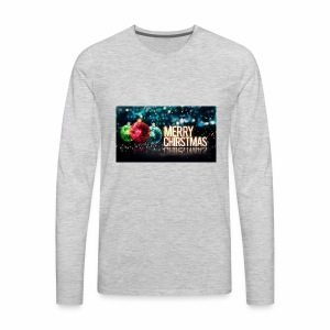 Merry Christmas Balls - Men's Premium Long Sleeve T-Shirt