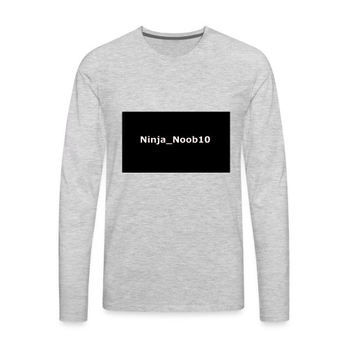 ninja merch - Men's Premium Long Sleeve T-Shirt