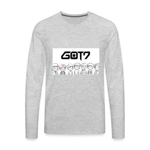 got7 - Men's Premium Long Sleeve T-Shirt