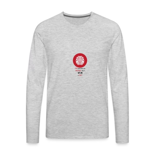 brain - Men's Premium Long Sleeve T-Shirt