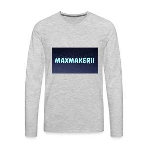 Maxmaker11 Shirt - Men's Premium Long Sleeve T-Shirt