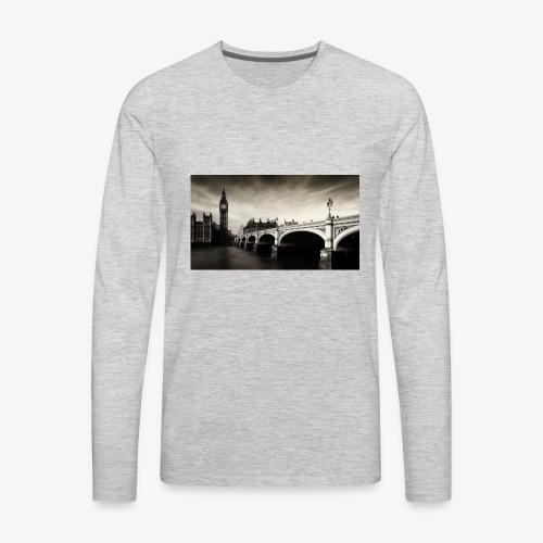 1 - Men's Premium Long Sleeve T-Shirt