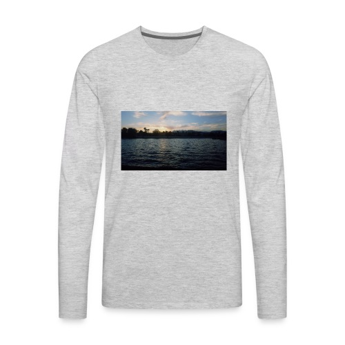 Pink Sunset - Men's Premium Long Sleeve T-Shirt