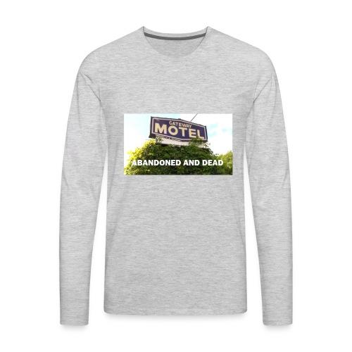 Gateway Motel Abandoned - Men's Premium Long Sleeve T-Shirt