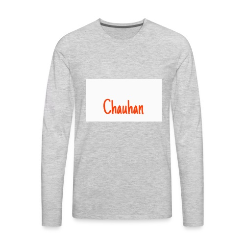 Chauhan - Men's Premium Long Sleeve T-Shirt