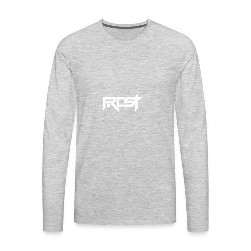 FROST TEXT LOGO - Men's Premium Long Sleeve T-Shirt