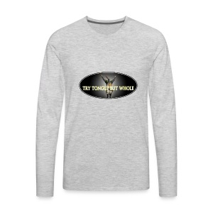 TRY TONGUE - Men's Premium Long Sleeve T-Shirt