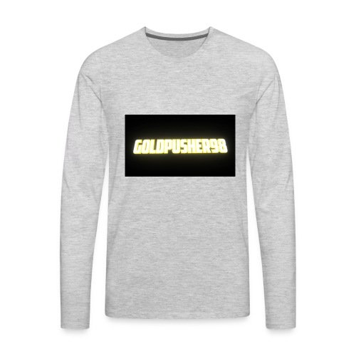 GoldPusher98 - Men's Premium Long Sleeve T-Shirt