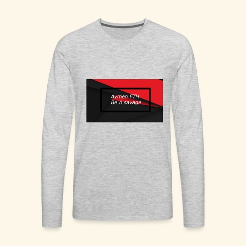 sans titre - Men's Premium Long Sleeve T-Shirt