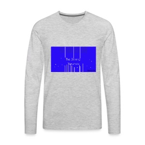Shining Narwhale - Men's Premium Long Sleeve T-Shirt