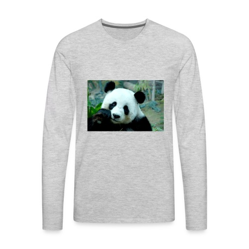 Panda lovers - Men's Premium Long Sleeve T-Shirt