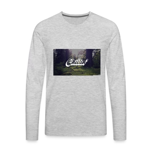 Chillin' Forest - Men's Premium Long Sleeve T-Shirt