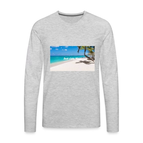ZACK EDDY VLOGS - Men's Premium Long Sleeve T-Shirt
