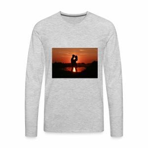 its valentine - Men's Premium Long Sleeve T-Shirt