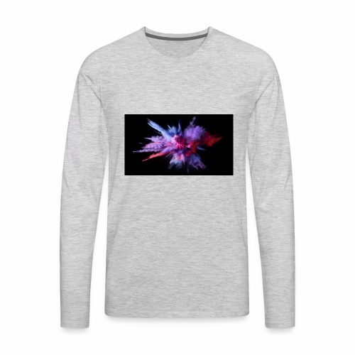 Explosion - Men's Premium Long Sleeve T-Shirt