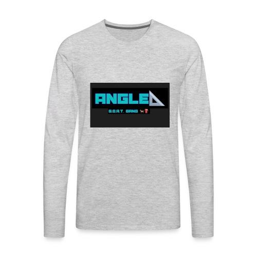 Angle - Men's Premium Long Sleeve T-Shirt
