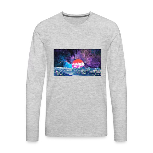 Galaxy Fazed - Men's Premium Long Sleeve T-Shirt
