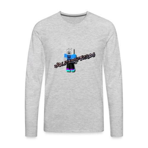 Wolfcrafter06 - Men's Premium Long Sleeve T-Shirt