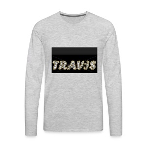 Travis - Men's Premium Long Sleeve T-Shirt