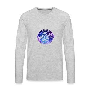 MOHIN Logo - Men's Premium Long Sleeve T-Shirt