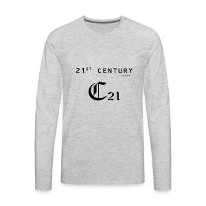 21 century - Men's Premium Long Sleeve T-Shirt