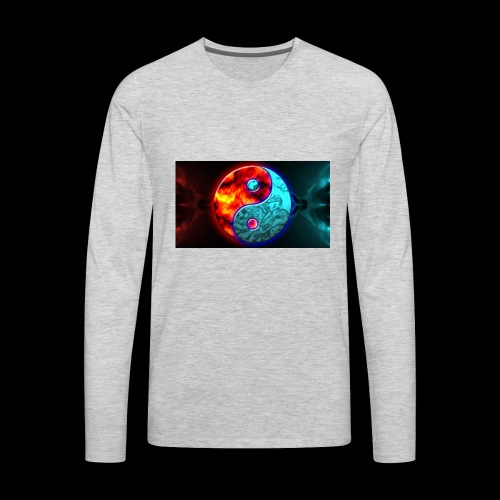 Master Of Chi - Men's Premium Long Sleeve T-Shirt