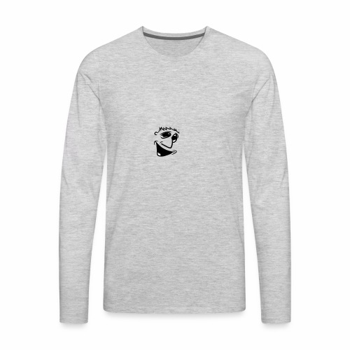 Happier Boy - Men's Premium Long Sleeve T-Shirt
