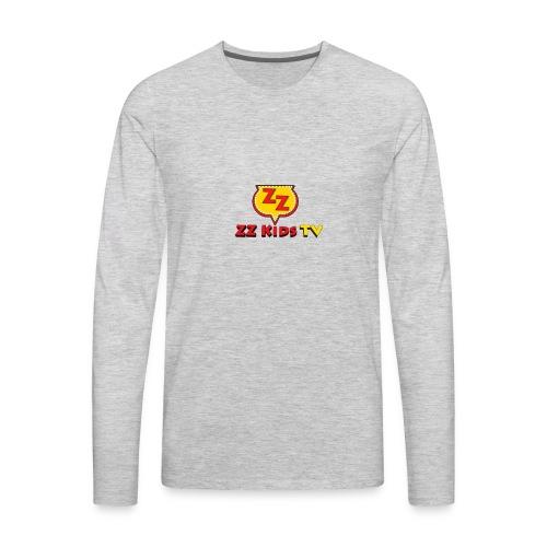 zzkidstv logo - Men's Premium Long Sleeve T-Shirt