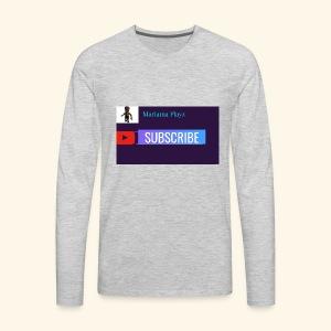 Mariama Playz Merch - Men's Premium Long Sleeve T-Shirt