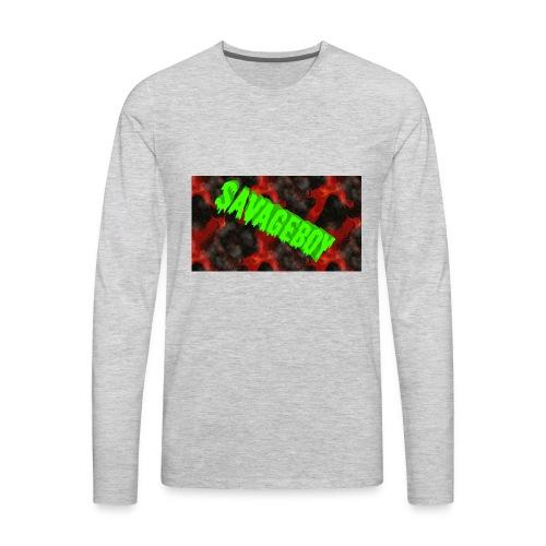 SavageBoy - Men's Premium Long Sleeve T-Shirt