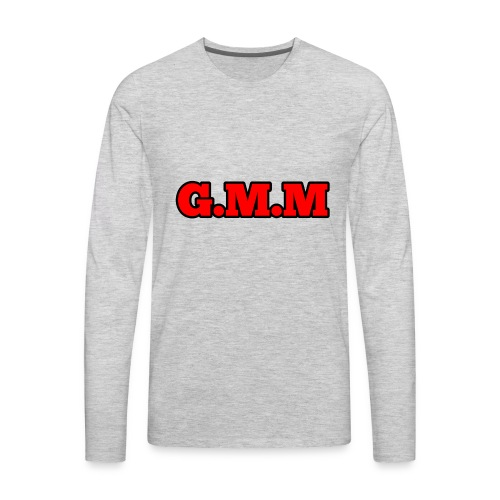 GOD MONEY MUSIC - Men's Premium Long Sleeve T-Shirt