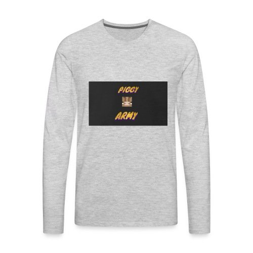 Piggy army - Men's Premium Long Sleeve T-Shirt